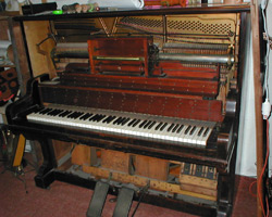 Photo Piano Pneumatique